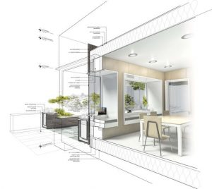 interior design drawings