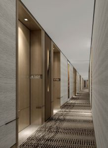 corridor interior decoration for hotels
