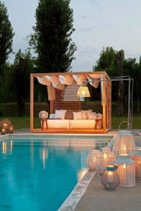 outdoor design for hotels and villas