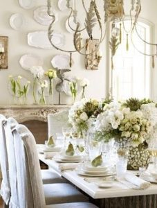 total white decoration